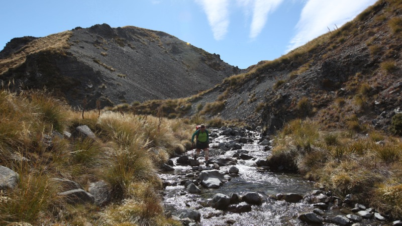 Nicky Crossing East Ahuriri River