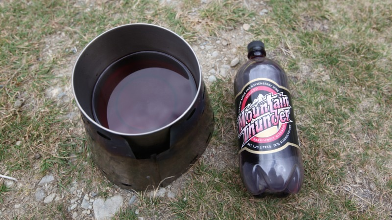 Mountain Thunder mulled wine