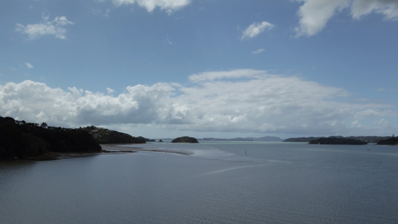 View over the Bay of Islands