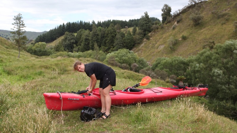 High & Dry on the Wanganui River
