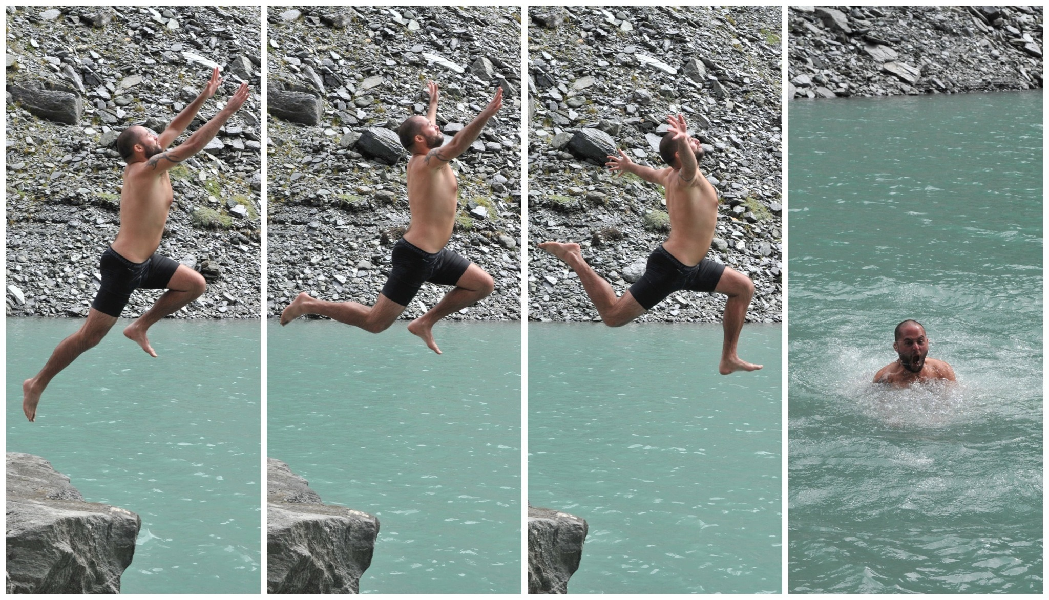 Page 1 post 1 of 1 nico swan diving into lake castalia frame by frame jeuxipadfo Image collections