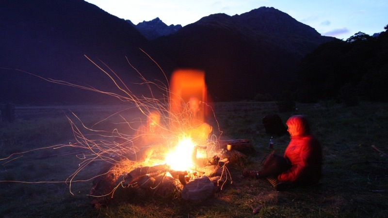 Fanning the Fire at Siberia Valley Camp