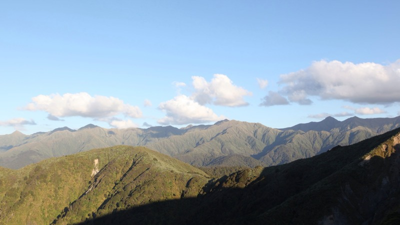 View Out Over the Tararua Range