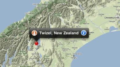 Twizel Map